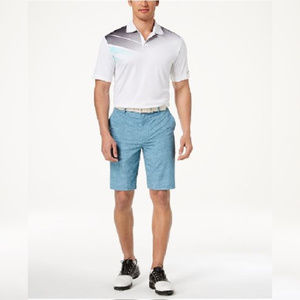 Greg Norman for Tasso Elba Men's Aqua Shorts